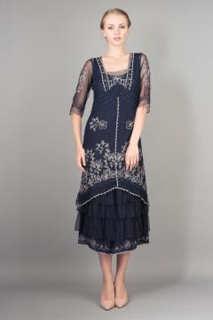 Nataya Titanic Dress AL-2101 in Sapphire