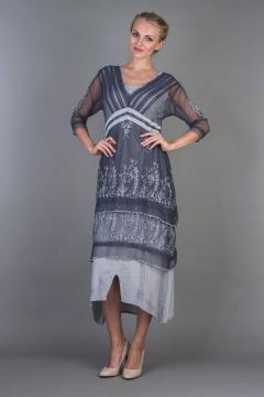 Nataya Titanic Dress 5901 in Dark Blue - SOLD OUT