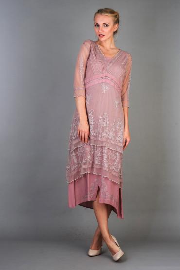 Nataya Titanic Dress 5901 in lavender Rose