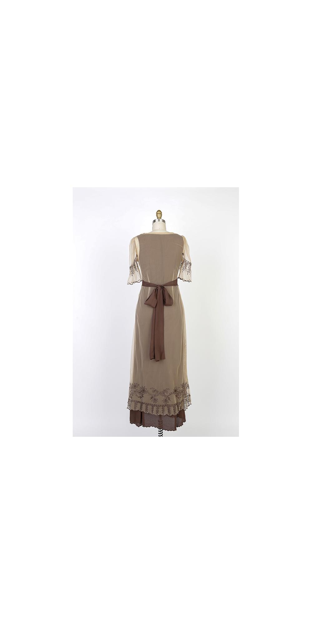 nataya 40007 new titanic dress in milk coffee. Black Bedroom Furniture Sets. Home Design Ideas