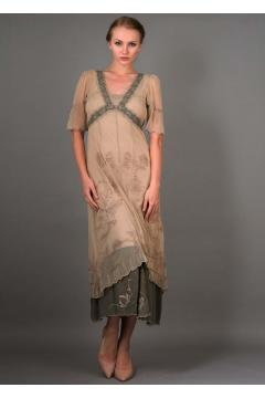 Nataya Titanic Dress 40007 in Sage