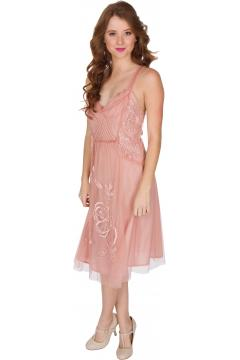 Nataya AL-216 Party Dress in Soft Pink