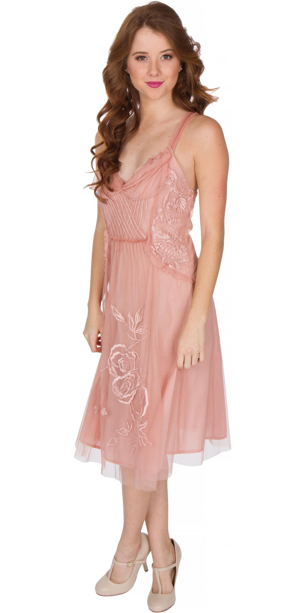 Age of Love Nataya AL-216 Party Dress in Soft Pink