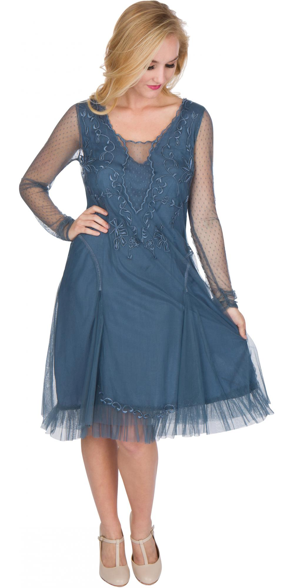 Age of Love Nataya AL-252 Party Dress in Sapphire