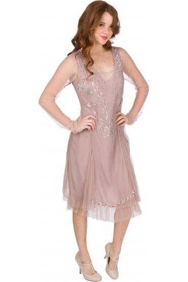 Nataya AL-252 Party Dress in Amethyst