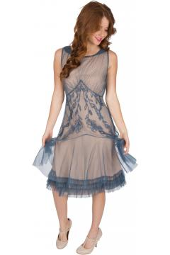 Nataya AL-428 Party Dress in Sapphire