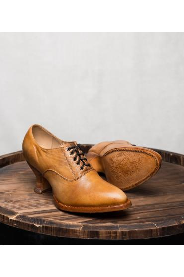 Victorian Style Shoes in Natural Rustic