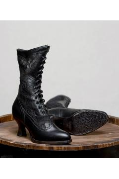 Victorian Inspired Boots in Black