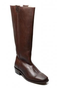 Vintage Style Boots in Brown