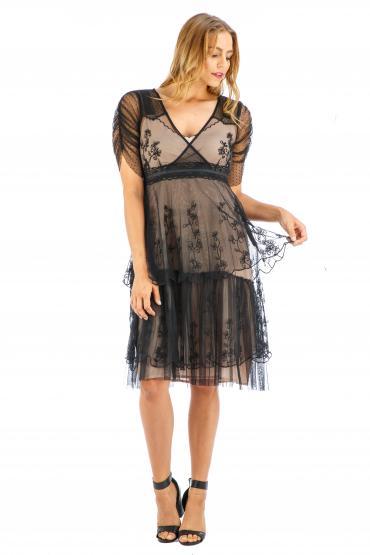 Age of Love Nataya AL-237 Party Dress in Onyx