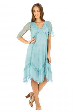 Nataya AL-241 Party Dress in Turquoise