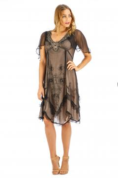Nataya AL-241 Party Dress in Onyx