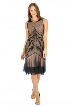 Nataya AL-248 Party Dress in Onyx