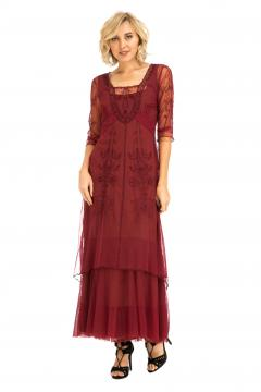 Nataya CL-201 Party Dress in Berry