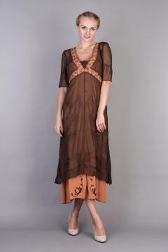 Nataya 40007 New Titanic Dress in Terracotta