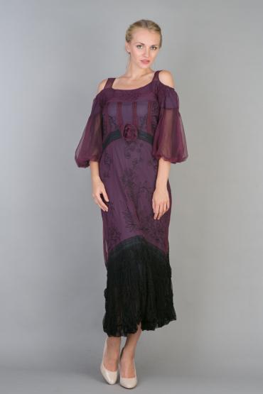 Nataya 40224 Off-Shoulder Vintage Party Dress