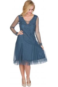 Nataya AL-252 Party Dress in Sapphire