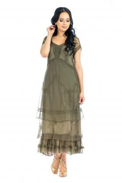Nataya CL-169 Party Dress in Olive