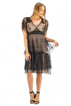 Age of Love Nataya AL-237 Party Dress in Onyx