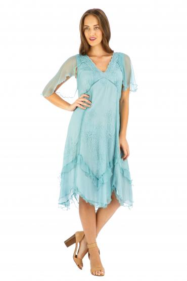 Age of Love Nataya AL-241 Party Dress in Turquoise