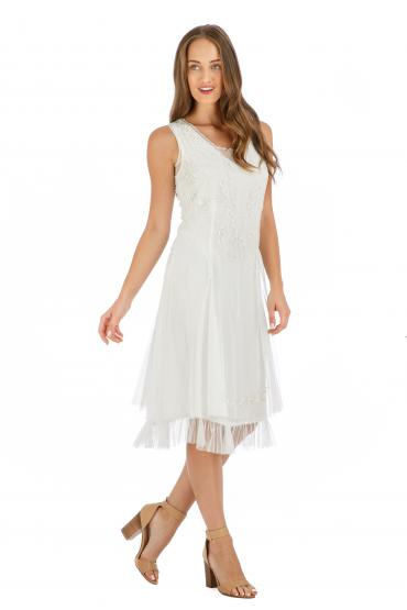 Age of Love Nataya AL-254 Party Dress in Ivory