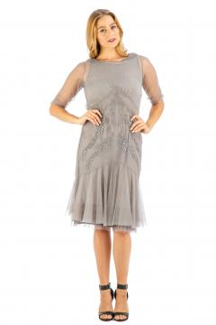 Age of Love Nataya AL-429 Party Dress in Stone