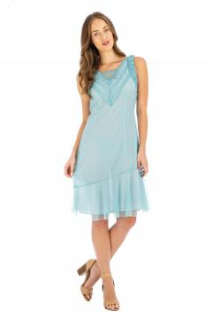 Age of Love Nataya AL-632 Party Dress in Turquoise