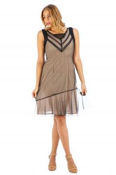 Age of Love Nataya AL-632 Party Dress in Onyx