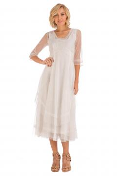 Nataya CL-163 Party Dress in Ivory