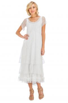 Nataya CL-169 Party Dress in Ivory