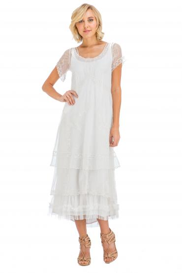 Nataya True Romance Nataya CL-169 Party Dress in Ivory
