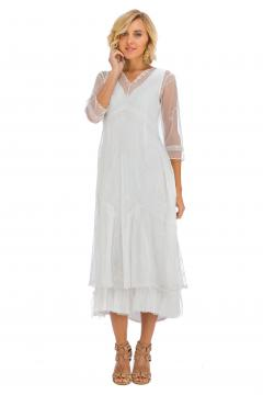 Nataya Somewhere in Time Dress in Ivory