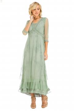 Nataya CL-407 Party Dress in Moss