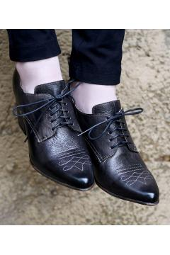 Vintage Style Shoes in Black - SOLD OUT