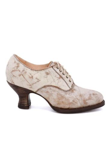 Victorian Style Shoes in Nectar Lux