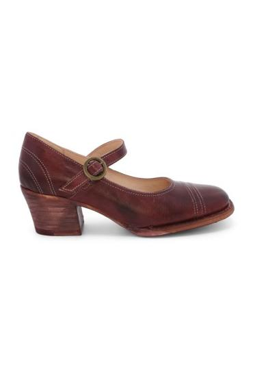 Twigley Vintage Style Heels in Scarlett Rustic