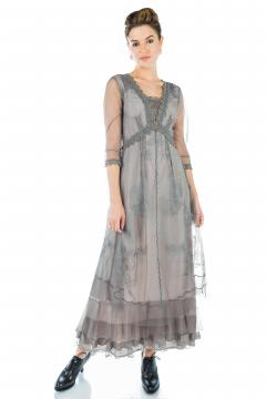 Nataya CL-407 Party Dress in Smoke