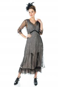 Nataya Somewhere in Time Dress in Black