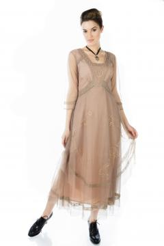 Nataya CL-163 Party Dress in Sand