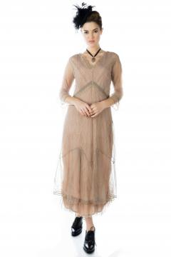 Nataya Somewhere in Time Dress in Sand