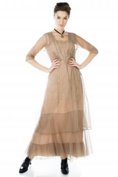 Nataya CL-201 Party Dress in Sand
