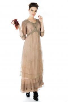 Nataya CL-407 Party Dress in Sand