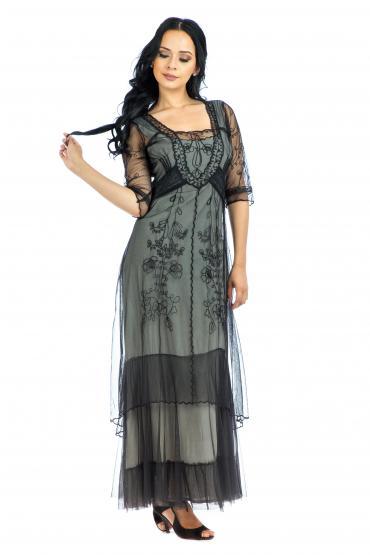 Nataya CL-201 Party Dress in Black