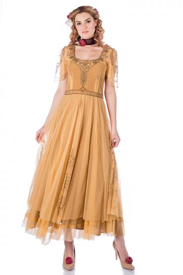 Nataya Alice 40815 Dress in Gold