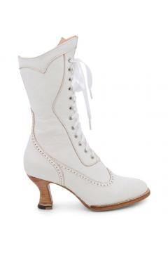 Victorian Inspired Wedding Boots in Nectar Rustic