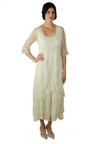 Nataya Titanic Dress AL-2101 in Ivory