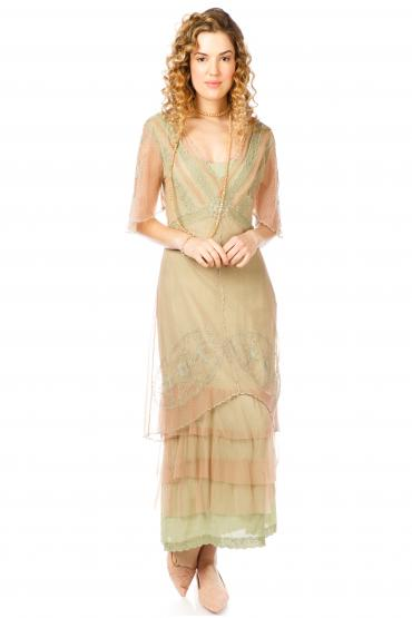 Nataya Titanic Elegance Dress in Sage