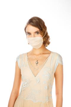 Breathable Dressy Face Mask in Nude Mint by Nataya
