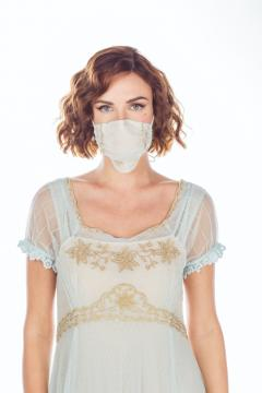 Breathable Dressy Face Mask in Sky Blue by Nataya