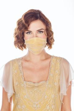 Breathable Dressy Face Mask in Lemon by Nataya